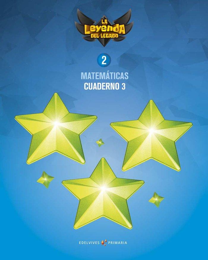 Cuaderno matematicas 3 2ºep 18 leyenda legado