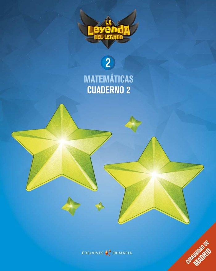 Cuaderno matematicas 2 2ºep madrid 18 leyenda lega