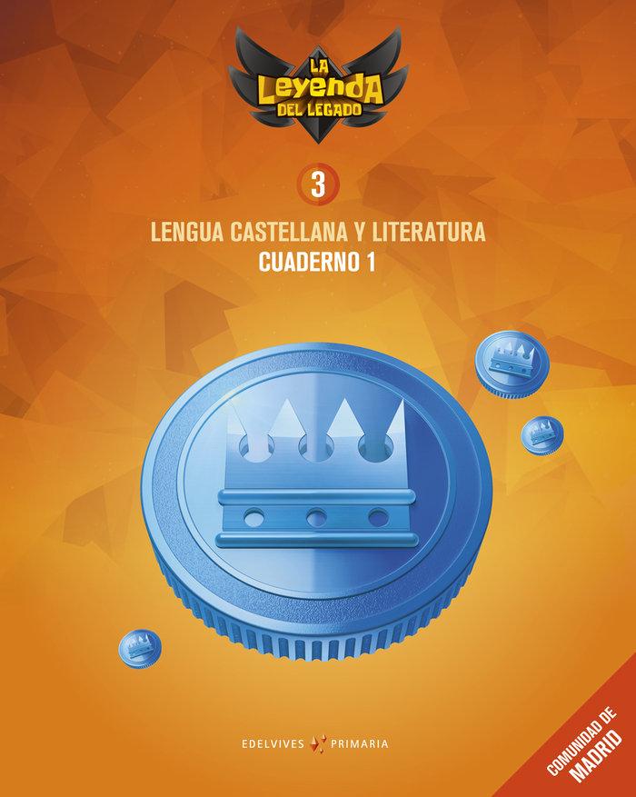 Cuaderno lengua 1 3ºep madrid 18 leyenda legado