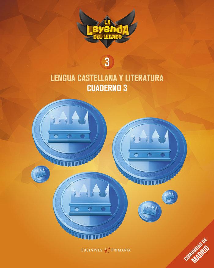 Cuaderno lengua 3 3ºep madrid 18 leyenda legado