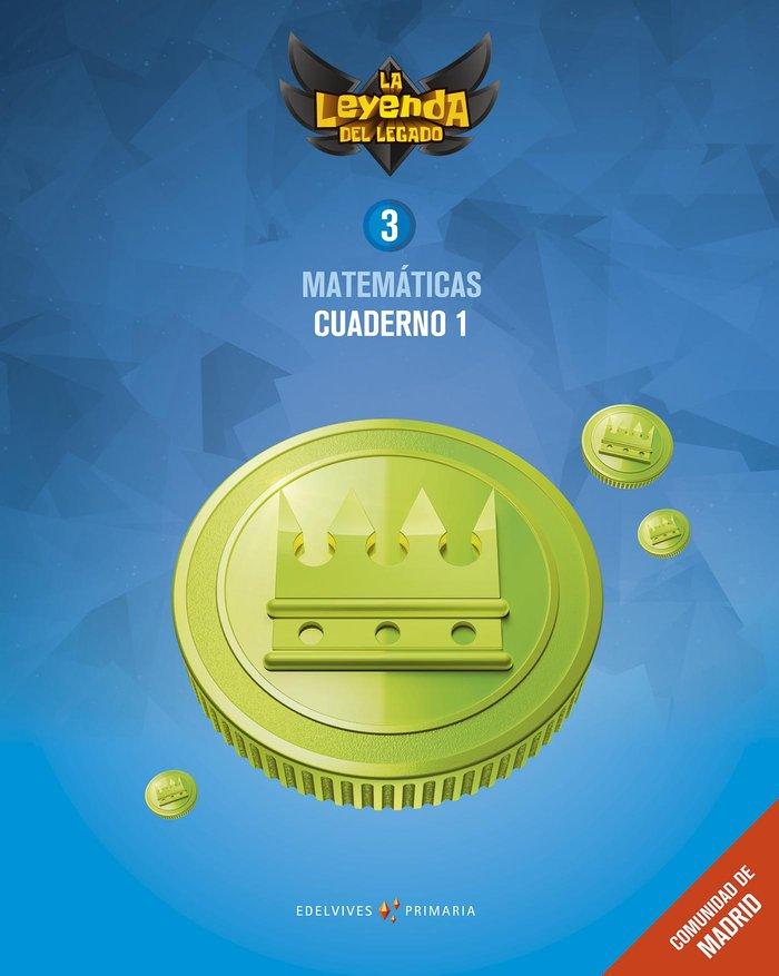 Cuaderno matematicas 1 3ºep madrid 18 leyenda lega