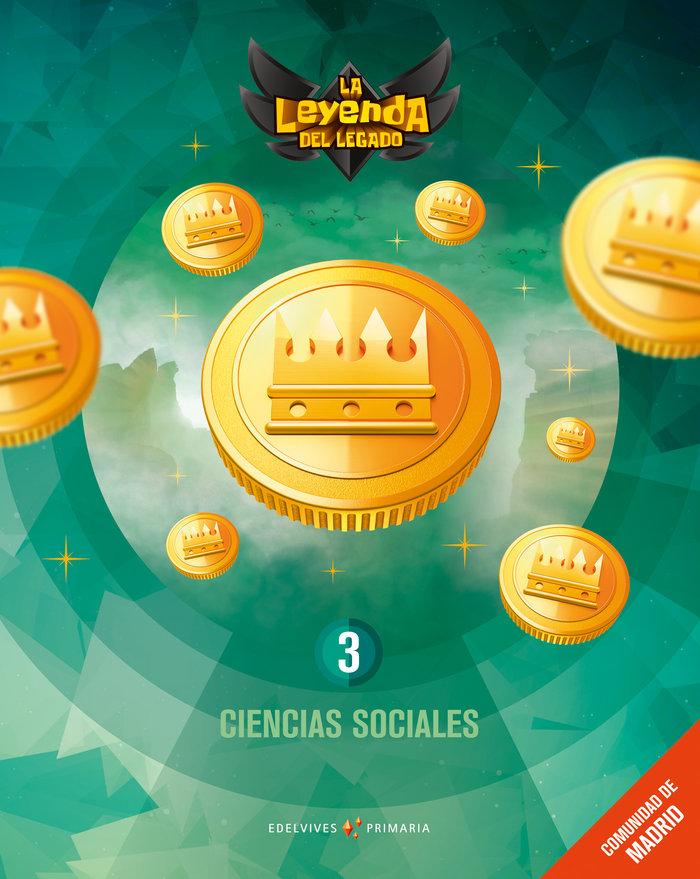 Ciencias sociales 3ºep madrid 18 leyenda legado