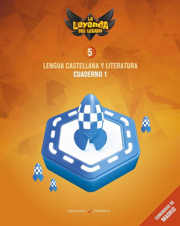 Cuaderno lengua 1 5ºep madrid 18 leyenda legado