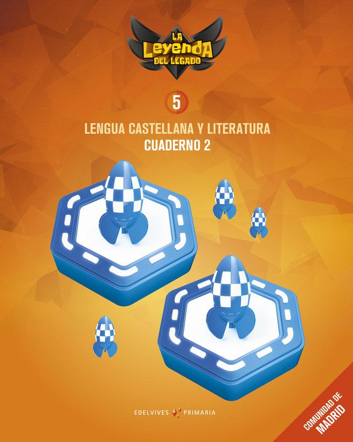 Cuaderno lengua 2 5ºep madrid 18 leyenda legado