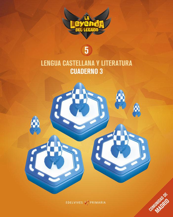 Cuaderno lengua 3 5ºep madrid 18 leyenda legado