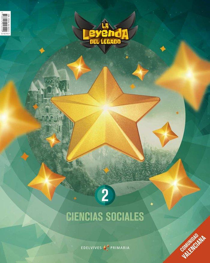 Ciencias sociales 2ºep c.valenciana 18 leyenda leg
