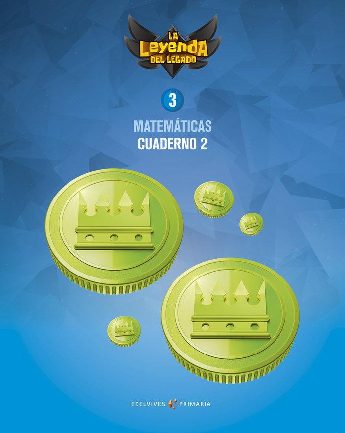Cuaderno matematicas 2 3ºep 18 leyenda legado