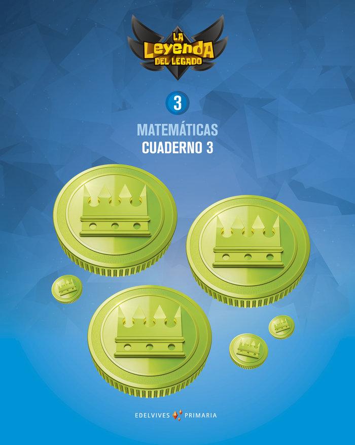 Cuaderno matematicas 3 3ºep 18 leyenda legado