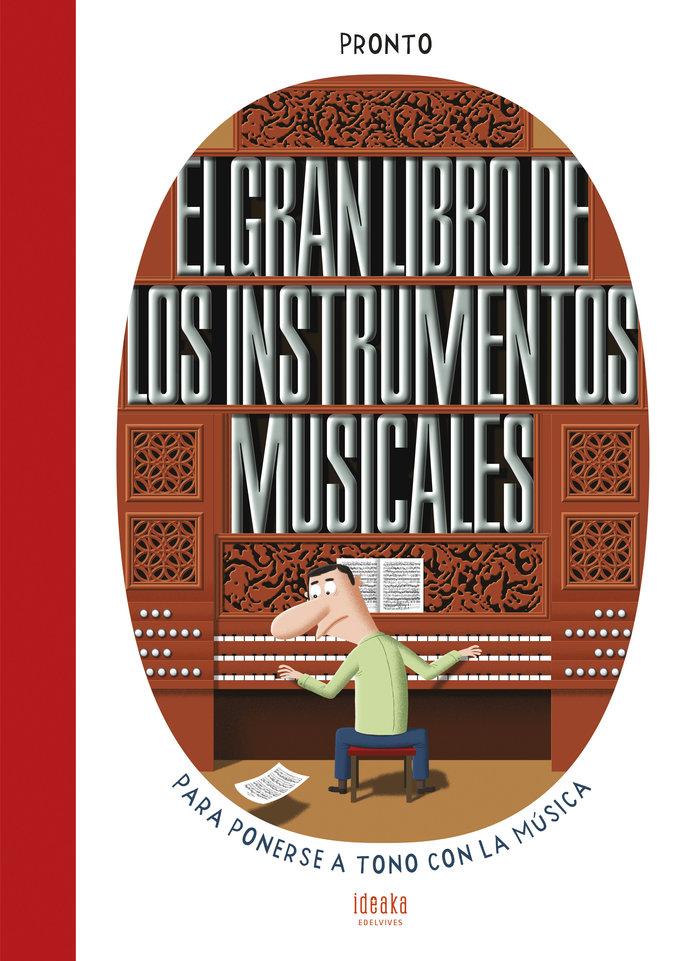Gran libro de los instrumentos musicales,el