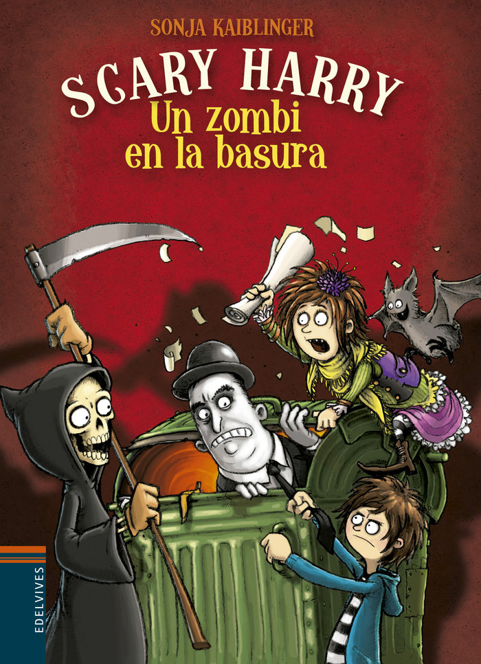 Scary harry 4 un zombi en la basura