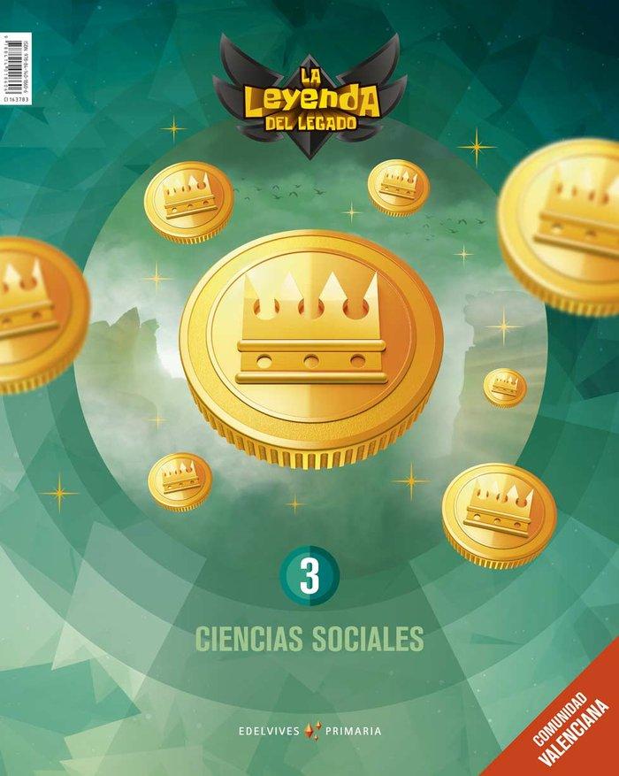 Ciencias sociales 3ºep c.valenciana 19 leyenda leg