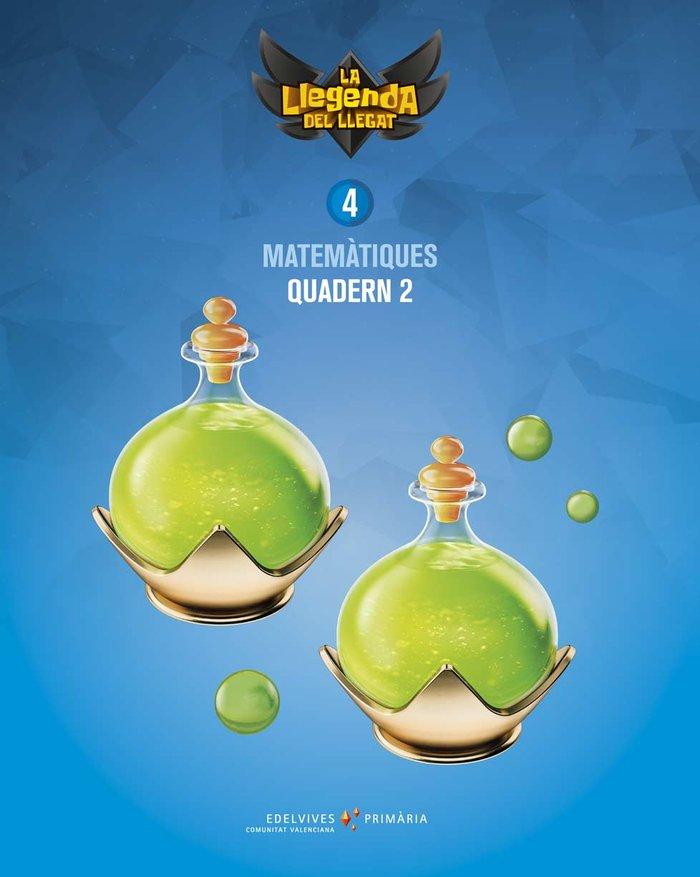 Quadern matematiques 2 4ºep c.valenciana 19 llegen