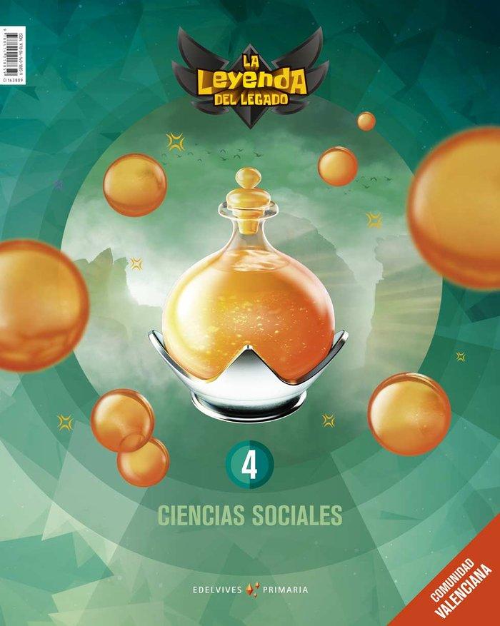 Ciencias sociales 4ºep c.valenciana 19 leyenda leg