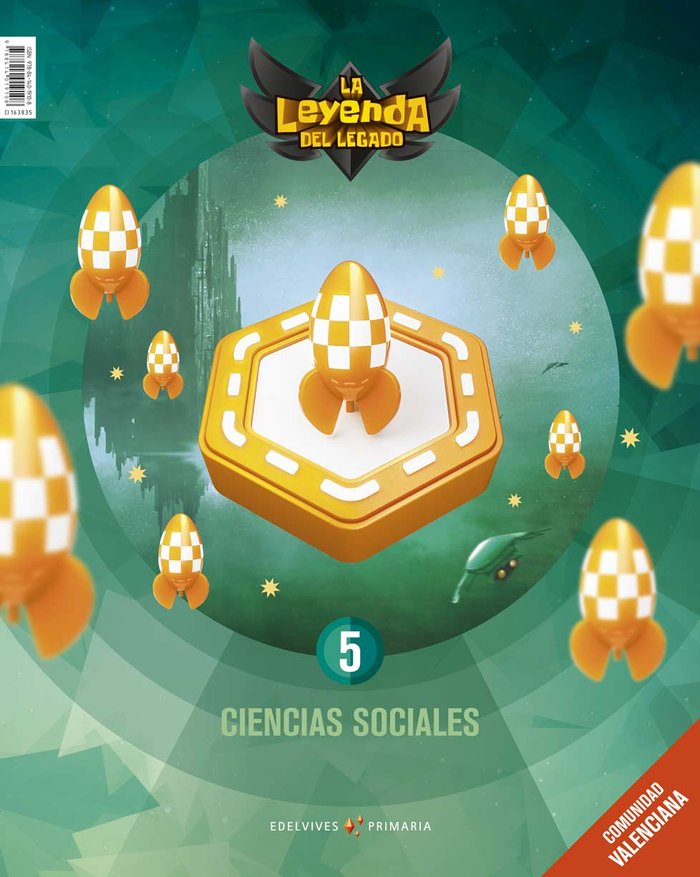 Ciencias sociales 5ºep c.valenciana 19 leyenda leg
