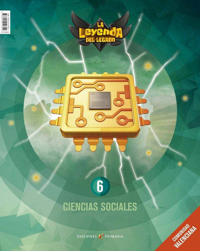 Ciencias sociales 6ºep c.valenciana 19 leyenda leg