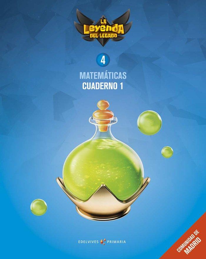 Cuaderno matematicas 1 4ºep madrid 19 leyenda lega