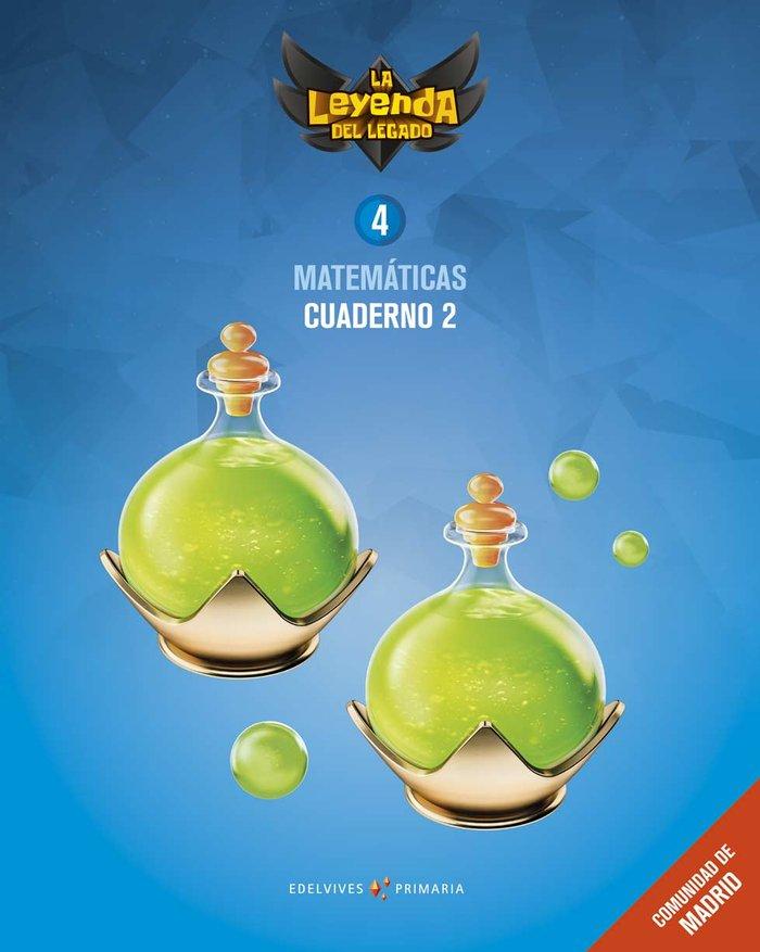 Cuaderno matematicas 2 4ºep madrid 19 leyenda lega