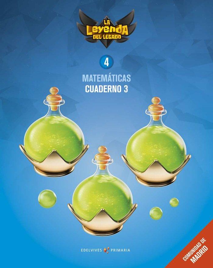 Cuaderno matematicas 3 4ºep madrid 19 leyenda lega