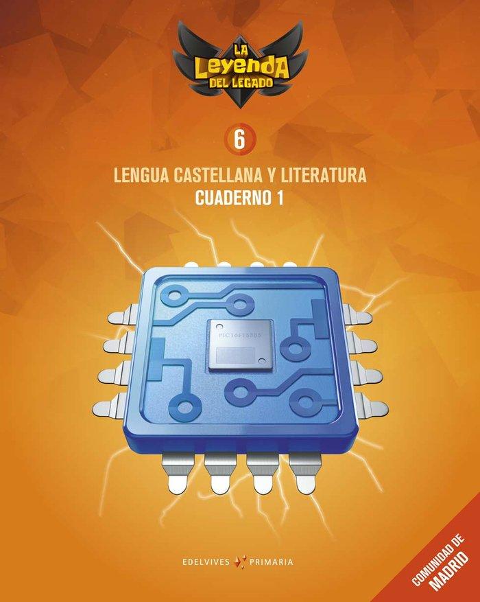 Cuaderno lengua 1 6ºep madrid 19 leyenda legado