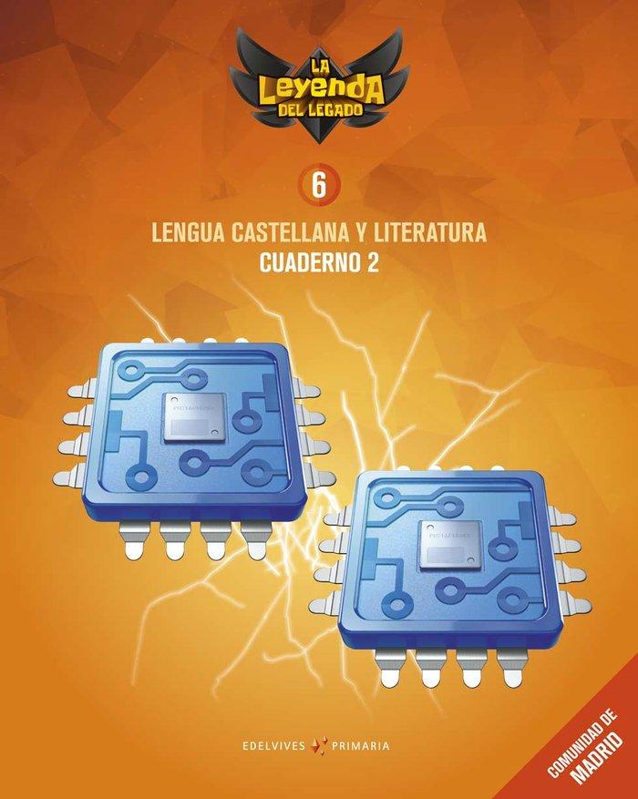 Cuaderno lengua 2 6ºep madrid 19 leyenda legado