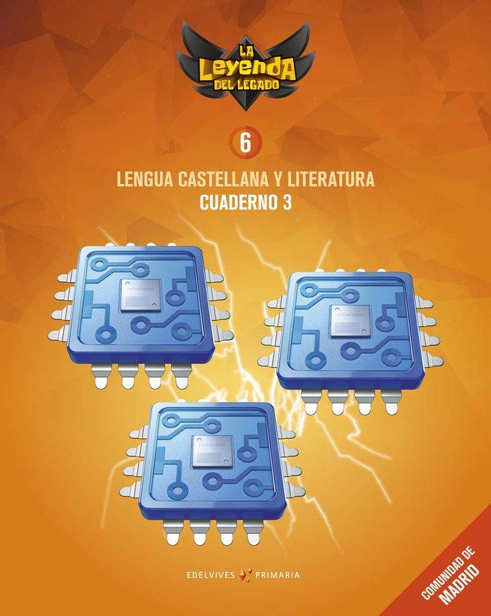 Cuaderno lengua 3 6ºep madrid 19 leyenda legado