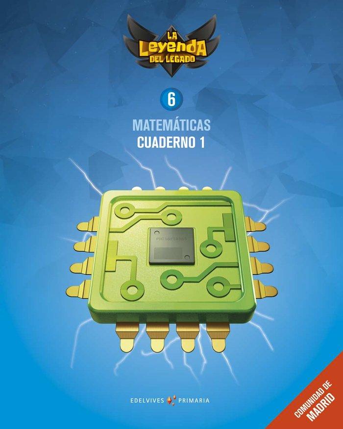 Cuaderno matematicas 1 6ºep madrid 19 leyenda lega