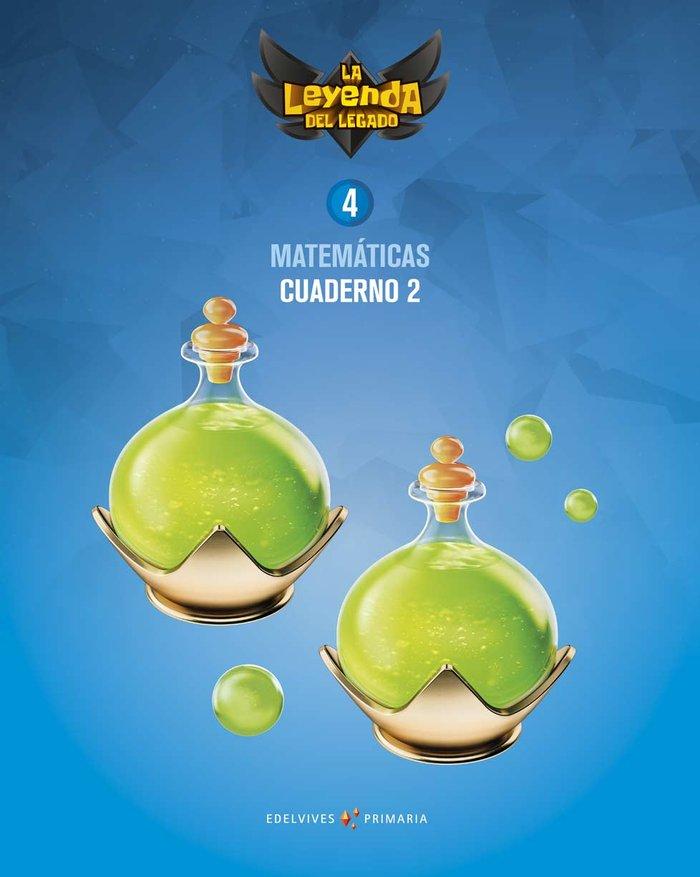 Cuaderno matematicas 2 4ºep 19 leyenda legado