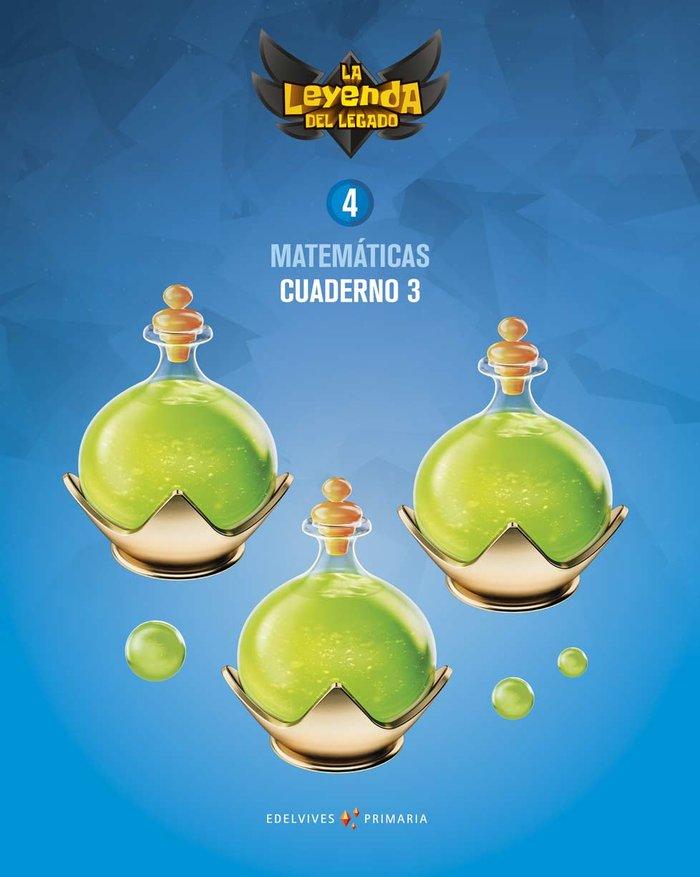 Cuaderno matematicas 3 4ºep 19 leyenda legado