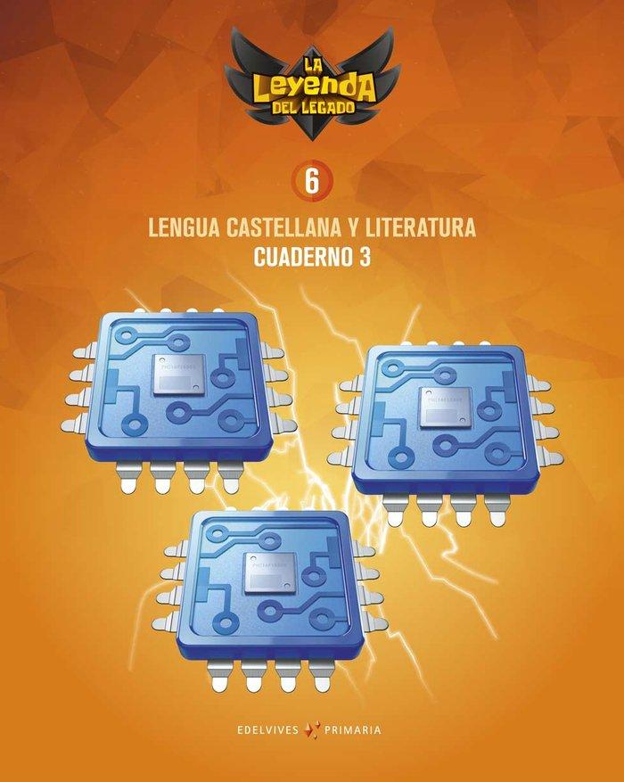 Cuaderno lengua 3 6ºep 19 leyenda legado