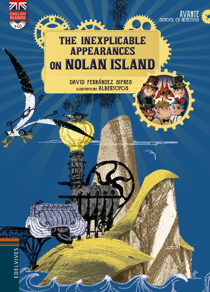 Inexplicable appeareances on nolan island con cd,the