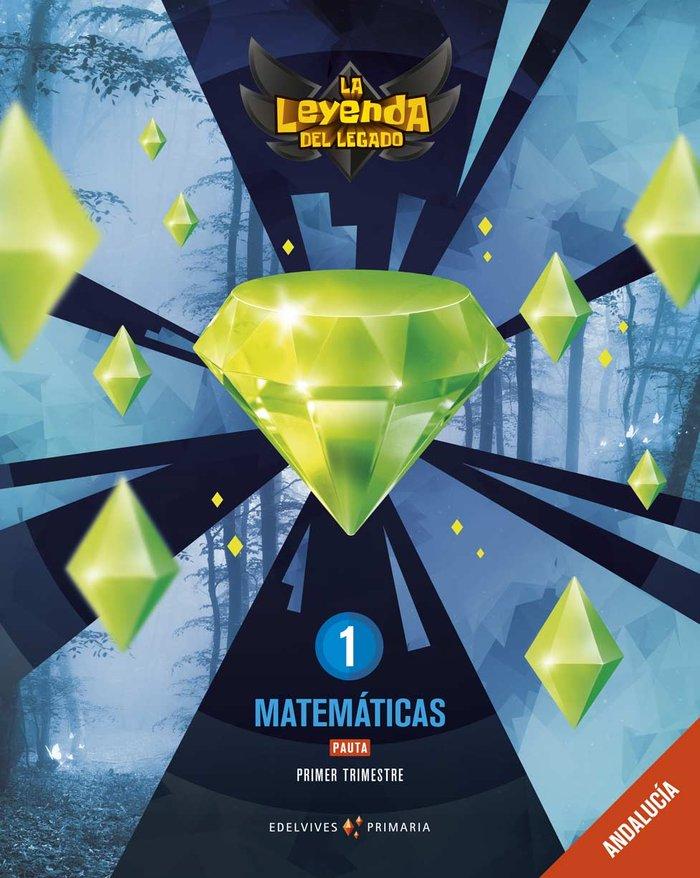 Matematicas 1ºep pauta andalucia 19 leyenda legado