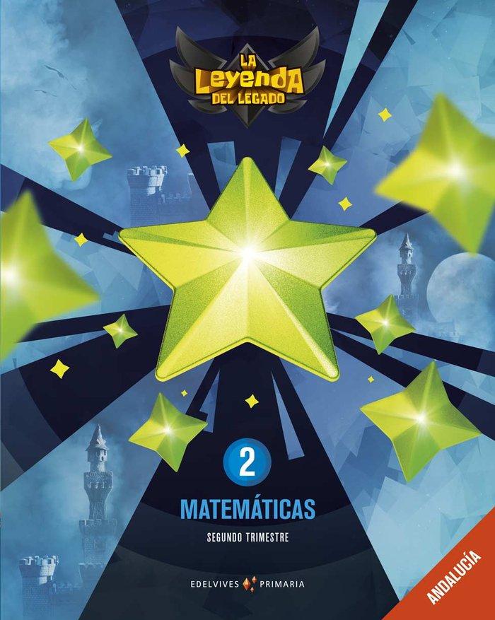 Matematicas 2ºep andalucia 19 leyenda legado