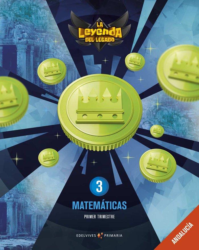 Matematicas 3ºep andalucia 19 leyenda legado