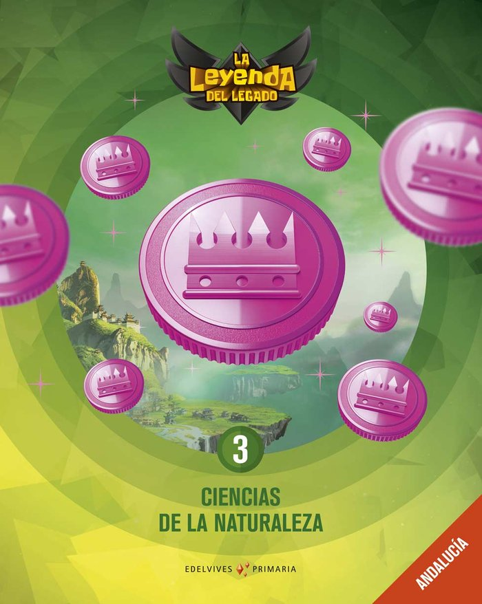 Ciencias naturaleza 3ºep andalucia 19 leyenda lega