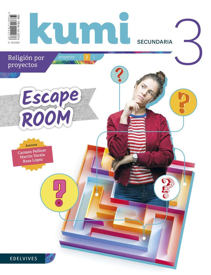 Escape room 3ºeso 19 kumi (religion)