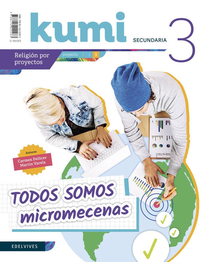 Todos somos micromecenas 3ºeso 19 kumi (religion)