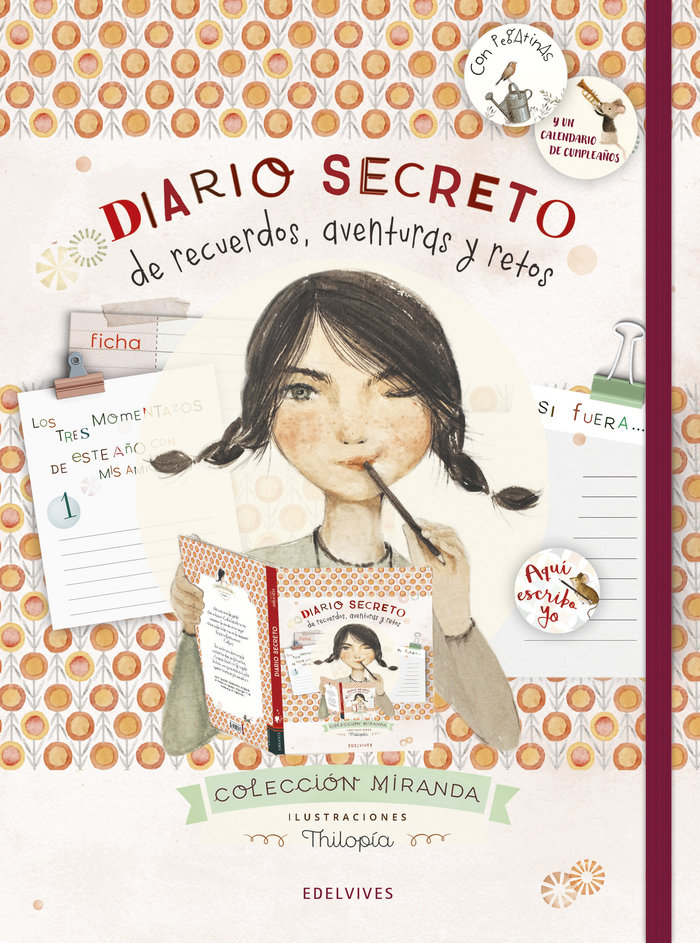 Diario secreto de recuerdos aventuras y retos