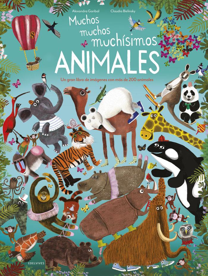 Muchos muchos muchisimos animales