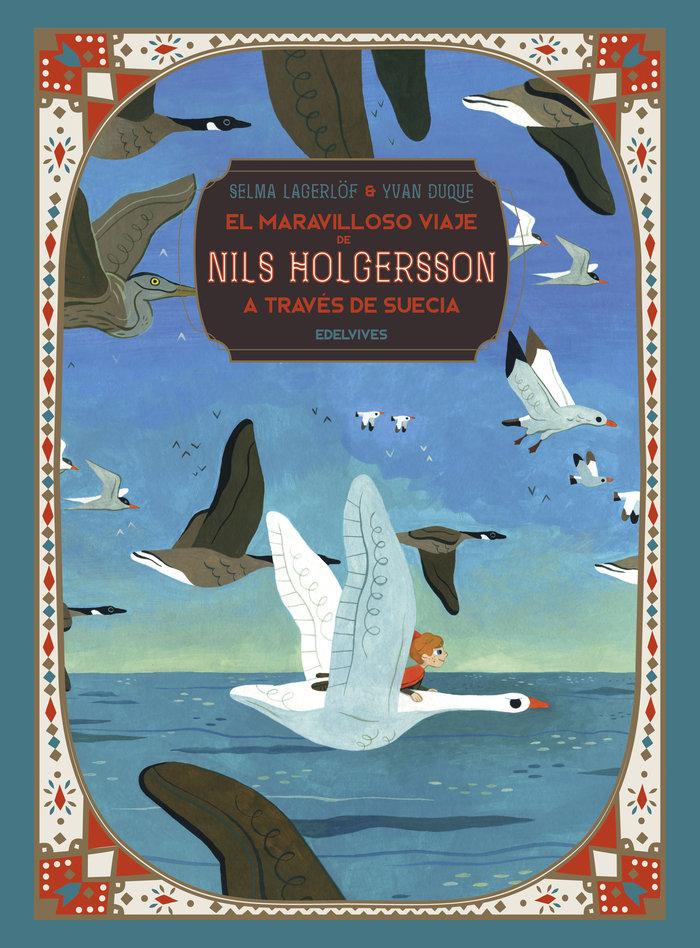 El maravilloso viaje de nils holgersson a traves de suecia