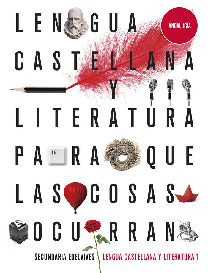 Lengua castellana 1ºeso andalucia 20 para cosas oc