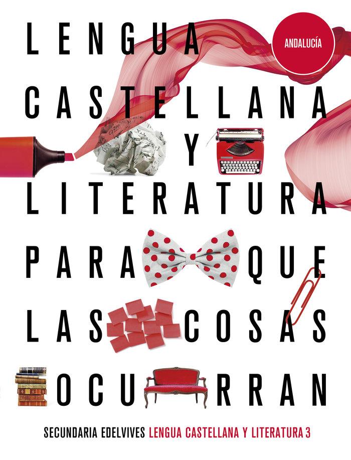 Lengua castellana 3ºeso andalucia 20 para cosas oc
