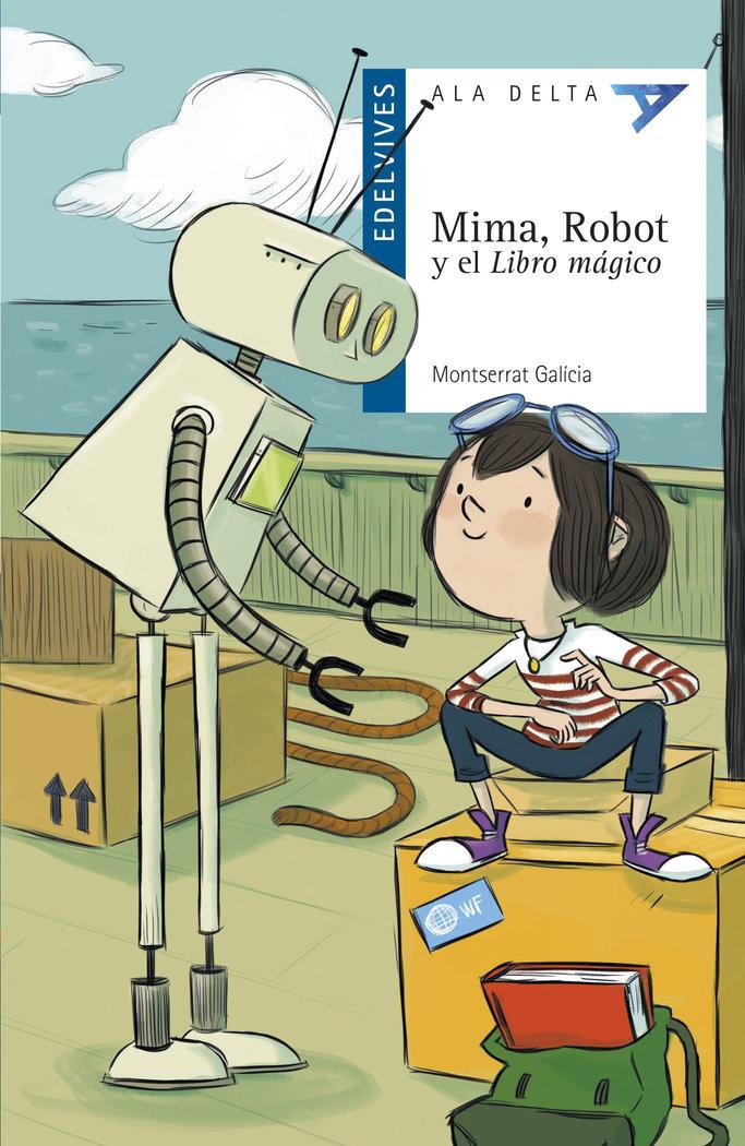 Mima, robot y el libro magico
