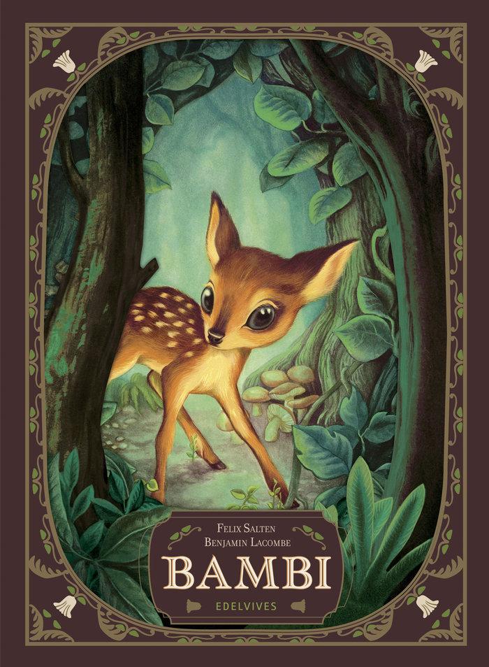 Clasicos ilustrados bambi una vida en el bosque