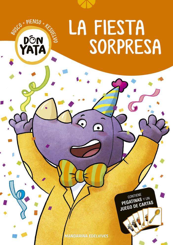 La fiesta sorpresa 4 don yata mandarina