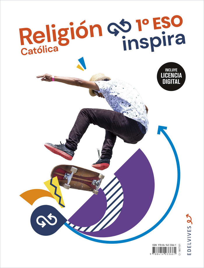 Religion 1ºeso + licencia digital 21 in&out inspir