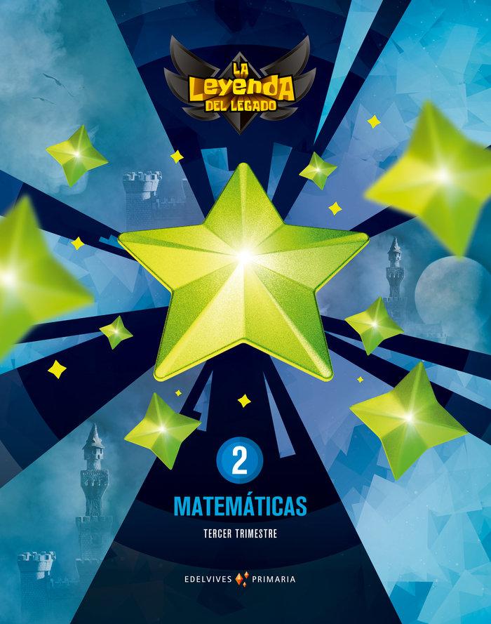 Matematicas 2ºep + licencia digital 21 leyenda leg