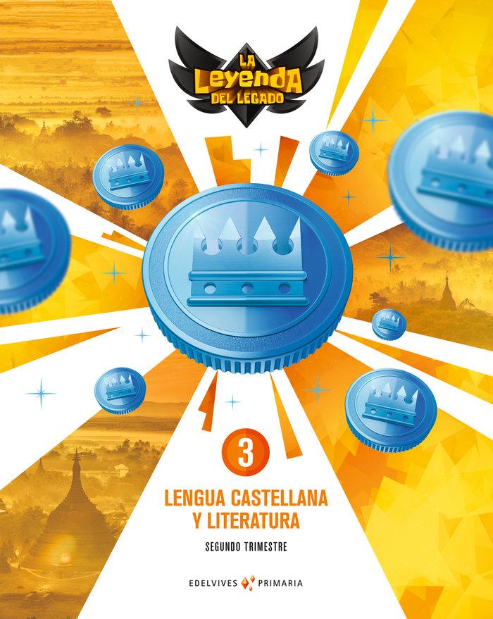 Lengua 3ºep + licencia digital 21 leyenda legado