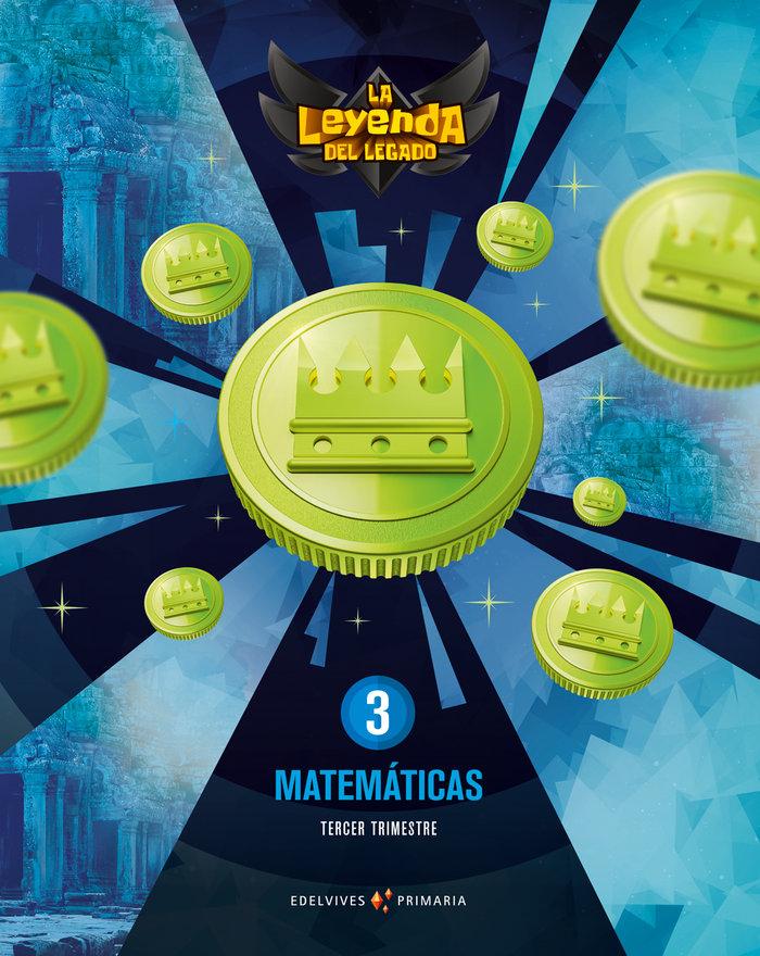 Matematicas 3ºep + licencia digital 21 leyenda leg