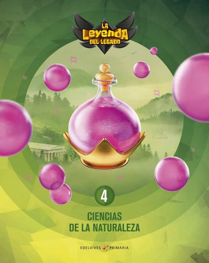 Ciencias naturaleza 4ºep + lic.digital 21 leyenda