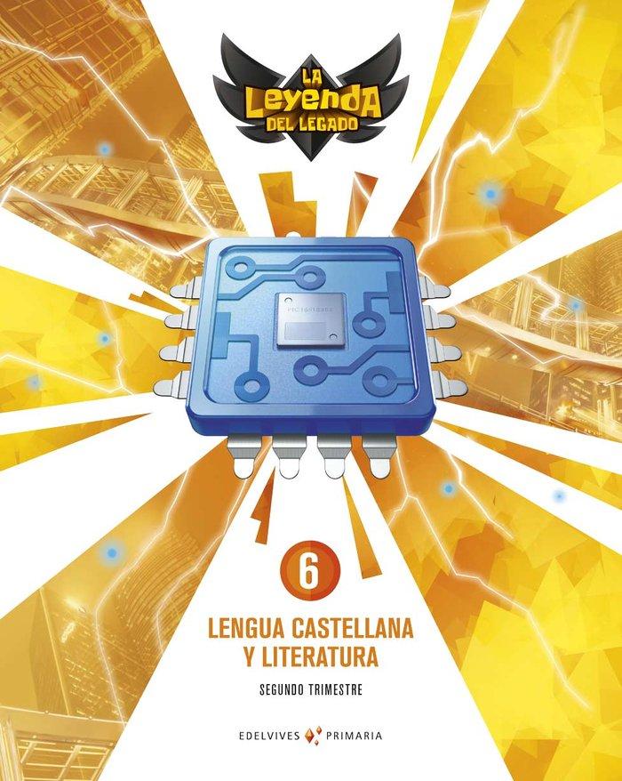 Lengua 6ºep + licencia digital 21 leyenda legado